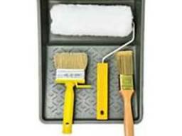 Валики, ручки, кюветки, кисти, макловицы для покраски