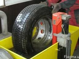 Ванна для проверки герметичности колес грузовых автомобилей