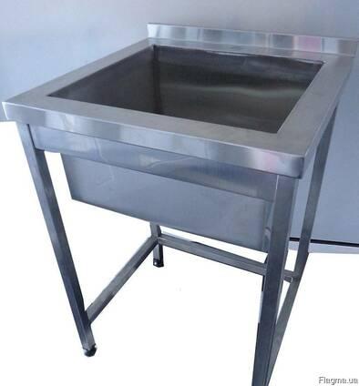 Ванна моечная 500х500х850 мм глубина чаши 300 мм
