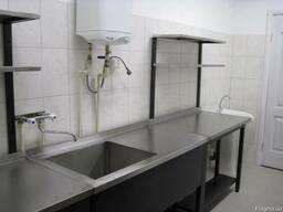 Ванна моечная из нержавеющей стали для общепита