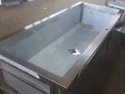 Ванна нержавеющая 1800х750х850 мм глубиной 450 мм