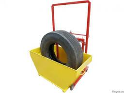 Ванная для проверки проколов колес грузовых авто