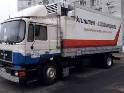 Вантажні перевезення авто по Києву та Україні