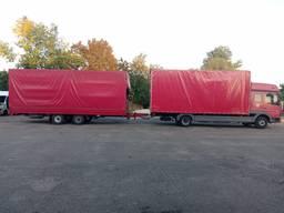 Вантажні перевезення по Україні та у міжнародному сполученні