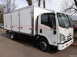 Вантажний автомобіль Isuzu NPR 75 з ізотермічним фургоном