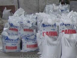 Вапно гашене витримане українське 20 кг 42 грн.