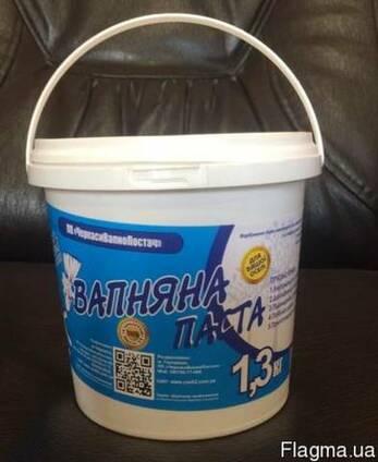 Вапняна паста Вищого гатунку у відрі-1,3 кг