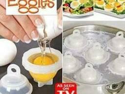 Варка яиц без скорлупы Eggies(Эггиз) яйцеварка