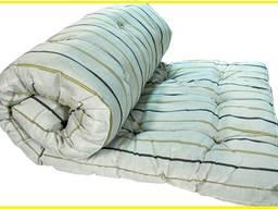 Ватный матрас 60х140 см (Тик) белая вата