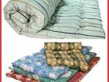 Ватные Матрасы, Поликотон, Тик, Опт/Розница текстиль - фото 1