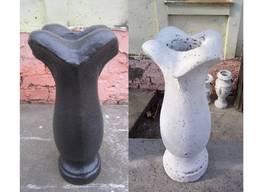 Ваза №1, бетонна, вулична d170*h340