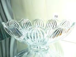 Ваза чешское стекло Crystalite Bohemia для фруктов и конфет