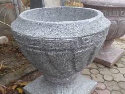 """Вазон """"Афіна"""" з ногою, садово-парковий d570*h620"""
