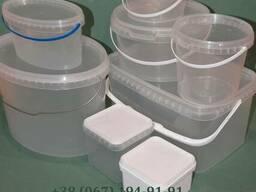 Пластиковая тара (ведро, ёмкость и судок от 150 мл до 20 л)