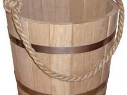 Ведро дубовое - 10-12 литров