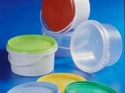 Ведро пластиковое пищевое 600 мл