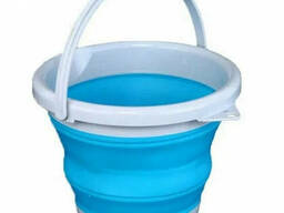 Ведро туристическое складное Collapsible Bucket EL 1262 5 л
