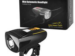 Велофонарь BC23Pro-XPE Ultra Light, Autolight Sensor, индикация заряда, ipx6. ..
