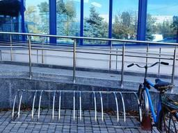 Велопарковка из нержавейки Велопарковки металлические