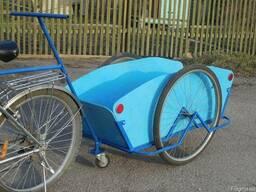 Велоприцеп грузовая тележка, универсальный Везун-4 СГ