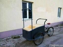 Велорикша, Грузовой велосипед