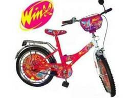 """Велосипед 2-х колесный 12"""" Winx ,131202"""