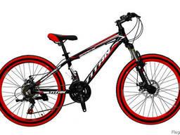 Велосипед детский подростковый 7-11 лет Titan Space 24x13.