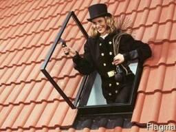 Velux люк выхода на крышу, мансардные окна