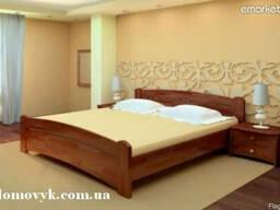 """""""Венеція"""" - ліжко з бука (є на виставці)"""