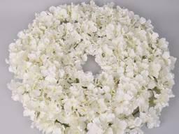 Венок из гортензий 3 шт Цветы искусственные