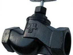 Вентиль чугунный 15 мм РУ 16 15кч18(33П)