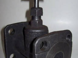Вентиль чугунный фланцевый 15кч34п (15кч19п) Ду25 Ру16