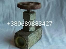 Вентиль игольчатый муфтовый ВИ 15с54бк Ру160 Ду20