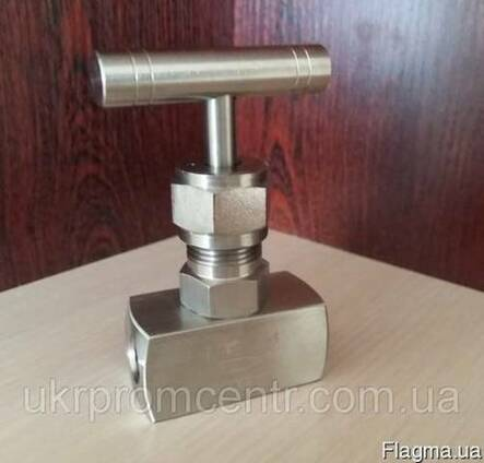 Вентиль игольчатый нержавеющий муфтовый AISI304 PN400