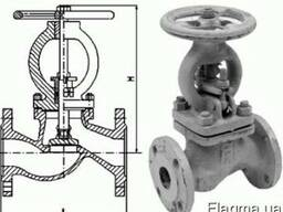 Вентиль (Клапан) 15с22нж стальной запорный сальниковый