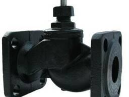 Вентиль клапан фланцевый чугунный 15кч19п (15кч34п) Ру16