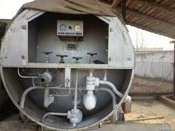 Вентиль поднятия давления в кислородной емкости ЦТК-5/0,25
