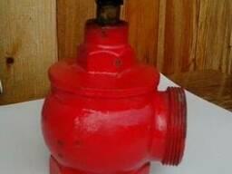 Вентиль пожарный чугунный угловой ДУ-50