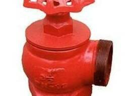 Вентиль пожарный чугунный угловой ДУ-50 - фото 1