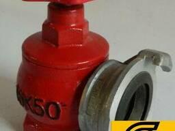 Вентиль пожарный Ду-50 чугунный угловой Одесса