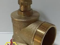 Вентиль пожарный Ду-50ВН латунный угловой Одесса