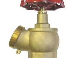 Вентиль пожарный латунный угловой ДУ 50 мм