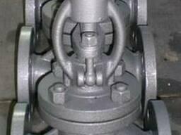Вентиль запорный фланцевый стальной