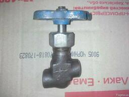 Вентиль запорный проходной нержавеющий 15нж6бк ду6 - фото 2