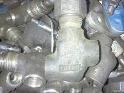 Вентиль запорный проходной нержавеющий 15нж6бк ду6 - фото 3