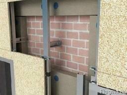 Вентилируемый утепленный фасад - экономия до 60% на отоплени