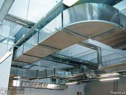 Вентиляция, бытовая и промышленная, воздуховоды