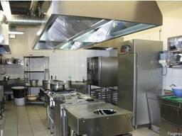 Вентиляция кафе, ресторанов, горячих цехов в Харькове.