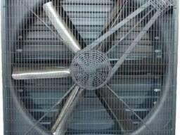 Вентилятор с клинно-ременной передачей