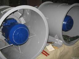 Вентиляторы осевые ОС250/10, 250/10 ОСО, ЭВО-25,0/100 и коле